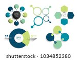 circle infographic template.... | Shutterstock .eps vector #1034852380