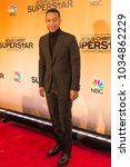 Small photo of New York, NY - February 17, 2018: John Legend attends Jesus Christ Superstar Live in Concert Press Junket at Church of St. Paul the Apostle produced by NBC