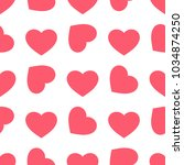 valentines day background.... | Shutterstock .eps vector #1034874250