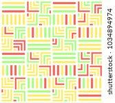 bright tile pattern | Shutterstock .eps vector #1034894974