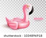vector realistic 3d pink... | Shutterstock .eps vector #1034896918