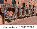 district distillery in toronto  ... | Shutterstock . vector #1034907583