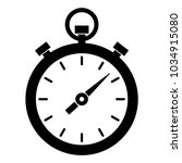 simple  black and white timer... | Shutterstock .eps vector #1034915080
