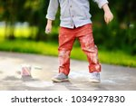 close up photo of little kid... | Shutterstock . vector #1034927830