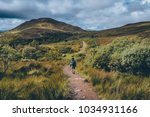 on the way of the west highland ... | Shutterstock . vector #1034931166