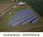 aerial view of solar energy...   Shutterstock . vector #1034940316