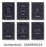 premium quality auto service... | Shutterstock .eps vector #1034943214