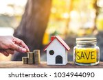investment in real estate... | Shutterstock . vector #1034944090