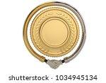 handshake around gold coin on...   Shutterstock . vector #1034945134