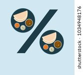 indian food discount offer.... | Shutterstock .eps vector #1034948176