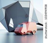 small truck | Shutterstock . vector #103494908