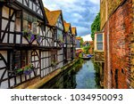 Medieval Half Timber Houses And ...