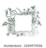 frame vector background... | Shutterstock .eps vector #1034975536