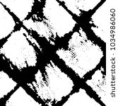 black and white grunge stripe... | Shutterstock . vector #1034986060