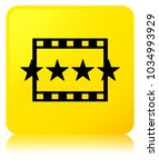 movie reviews icon isolated on... | Shutterstock . vector #1034993929