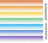 random striped halftone.... | Shutterstock .eps vector #1034995078