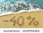 the inscription discount is... | Shutterstock . vector #1034996383