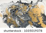 marble abstract acrylic... | Shutterstock . vector #1035019378