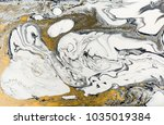 marble abstract acrylic... | Shutterstock . vector #1035019384