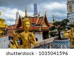 grand palace bangkok thailand | Shutterstock . vector #1035041596