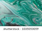marble abstract acrylic... | Shutterstock . vector #1035053059