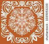 vector illustration. pattern... | Shutterstock .eps vector #1035053233