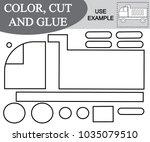 activity for children. color ... | Shutterstock .eps vector #1035079510