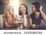 background of a happy group of... | Shutterstock . vector #1035080296