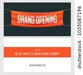 grand opening vector shutterstock eps vector 1035087196