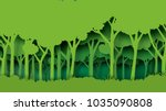 eco green nature forest... | Shutterstock .eps vector #1035090808