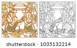 poster  background with... | Shutterstock .eps vector #1035132214