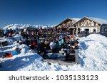 saint gervais les bains  france ... | Shutterstock . vector #1035133123
