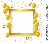 celebration background with...   Shutterstock .eps vector #1035137824