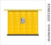 vector post automat... | Shutterstock .eps vector #1035138616