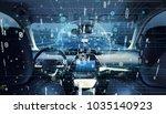 interior of autonomous car. car ...   Shutterstock . vector #1035140923