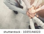 group of successful business... | Shutterstock . vector #1035146023