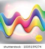 abstract vector background.... | Shutterstock .eps vector #1035159274