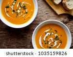 couple of bowls of homemade... | Shutterstock . vector #1035159826