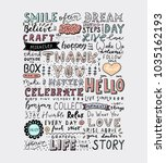 retro style lettering quotes... | Shutterstock .eps vector #1035162193