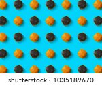 fast food background concept... | Shutterstock . vector #1035189670