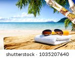 table background of free space... | Shutterstock . vector #1035207640