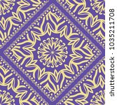 template print for fabric.... | Shutterstock .eps vector #1035211708