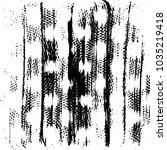 grunge halftone black and white ... | Shutterstock .eps vector #1035219418