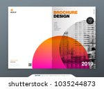 brochure template layout design.... | Shutterstock .eps vector #1035244873