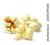 tasty popcorn. elements for... | Shutterstock .eps vector #1035249160