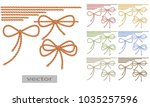 rope  rope  two tone thread.... | Shutterstock .eps vector #1035257596