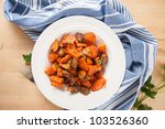 chicken hearts sauteed with...
