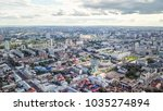 panoramic view of the city of... | Shutterstock . vector #1035274894
