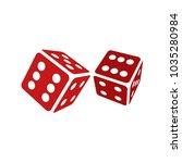 dice 3d vector illustration | Shutterstock .eps vector #1035280984