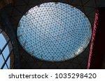 figueres  spain july 17  2017 ...   Shutterstock . vector #1035298420